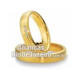 Alianças em ouro amarelo...