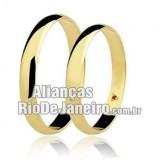 Aliança em ouro 18k Rio de janeiro