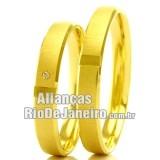 Alianças ouro baratas Rio...