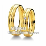 Alianças de noivado 18k Rj