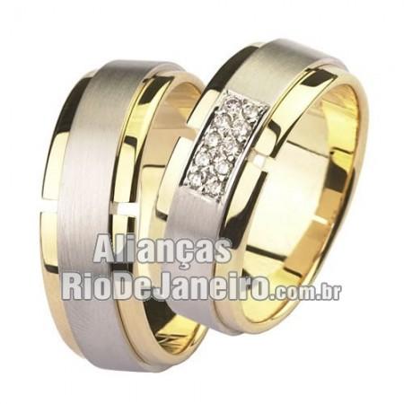 Alianças Rio de janeiro de noivado e casamento baratas