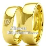 Alianças em ouro para casamento Rj
