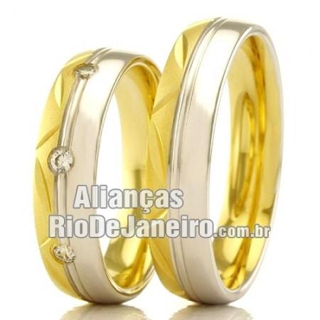 Alianças Rio de janeiro em Ouro Amarelo e Ouro Branco